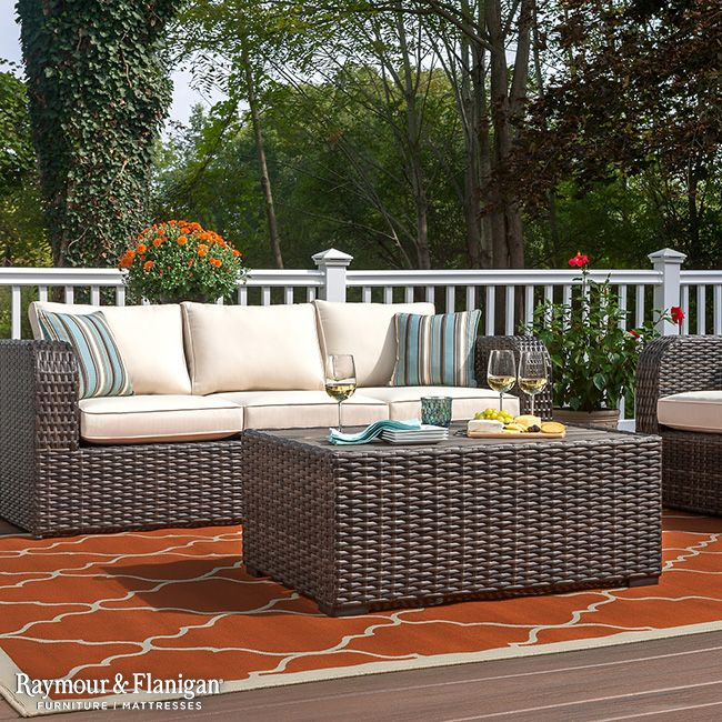 Amazing Transform Your Patio Or Deck Into A Relaxing Getaway With The Anchor Bay  Outdoor Sofa. Part 19