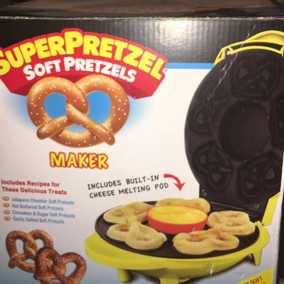 A super Pretzel Maker This is a pretzel maker that has never been used before..the recipes are not in there but they are online.  SuperPretzel Other