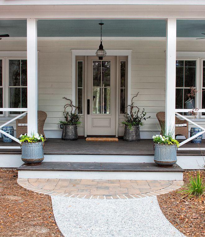 Cottage Front Door Paint Color Benjamin Moore Revere