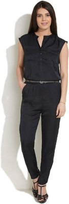 Buy Chemistry Solid Women's Jumpsuit: Jumpsuit