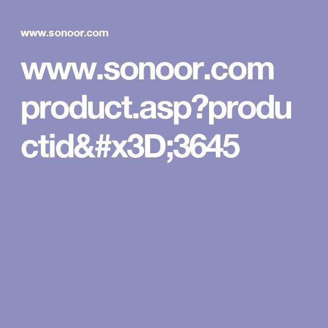 www.sonoor.com product.asp?productid=3645