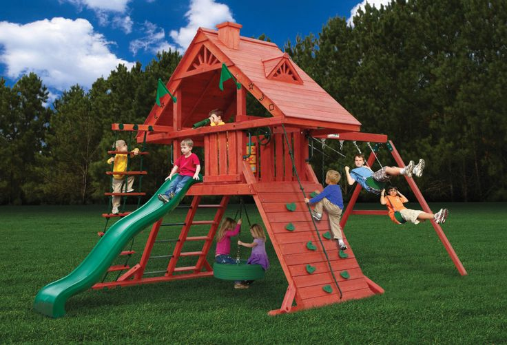 18 Best Play Set Swing Set Images On Pinterest Play