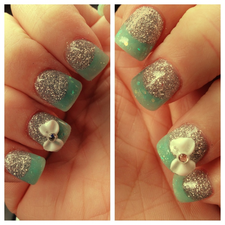 111 best images about glitter acrylic nail tips on for Acrylic nails salon brisbane