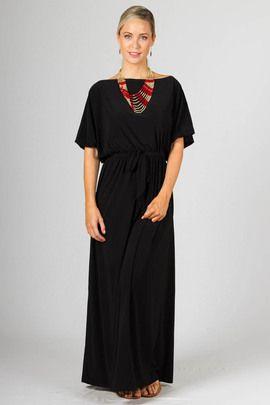Chloe Maxi Dress - Black by Paper Scissors Frock