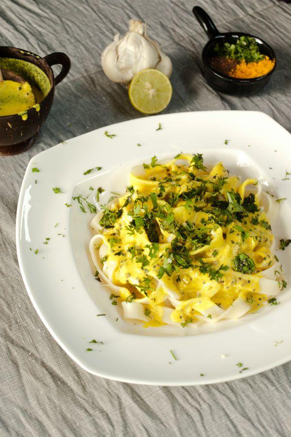 Lemon Pasata Sauce #stepbystep #recipe masalaherb.com @Helene Dsouza