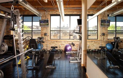 Cool home gym pinterest