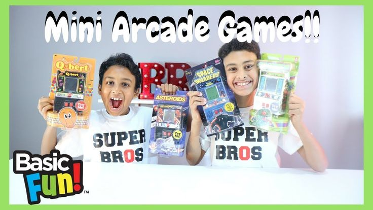Mini Arcade Games   Authentic Game Play   Best Toys 2017