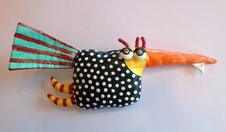 One Toof Goof Bird Soft Sculpture by jodieflowers on Etsy