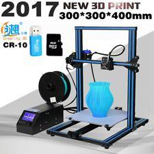 Aluminum CR-10 Large 3D Printer Prusa I3 DIY Kit Print Size 300x300x400mm Sale!
