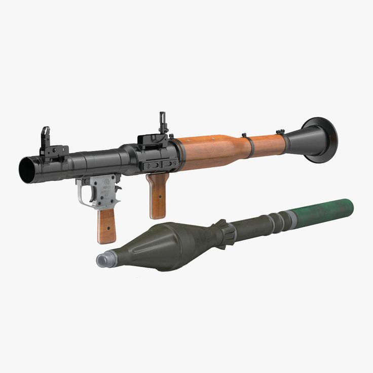 rpg-7 modeled realistic 3d max