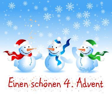 4.Advent Bild schneemaenner-0012.gif kostenlos auf deiner Homepage einbinden oder als Grußskarte versenden   123gif.de
