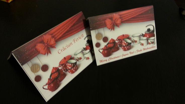 Christmas theme #fotocolaj cards for business