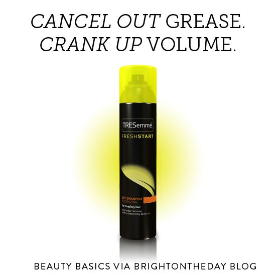 Best Dry Shampoo for Volume: TRESemme Dry Shampoo