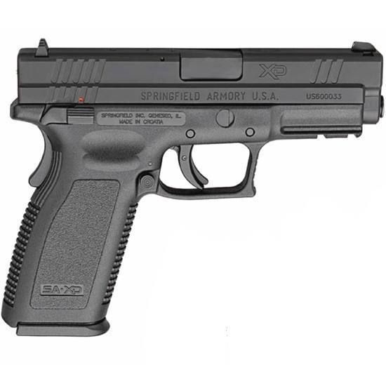The Springfield XD Service .40 S&W with 4-inch barrel and 12-round magazine. $399 when you click on the picture