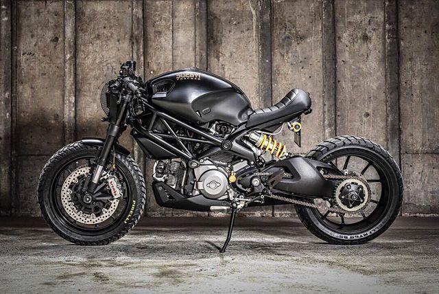 'Darth Mostro' Ducati M1100 – K-Speed Customs