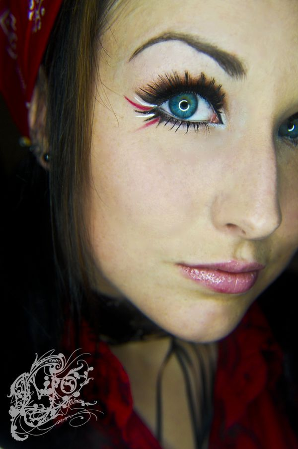 Pirate Makeup By Cosas Para Ponerse Pinterest Art Maquillage De