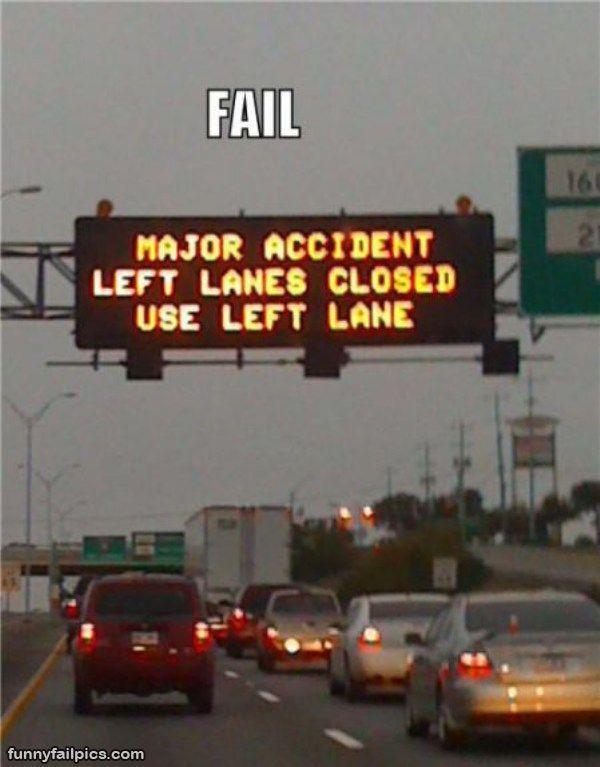 traffic sign meme | Lane fail traffic sign wtf cool stuff tumblr funny pics the best signs ...