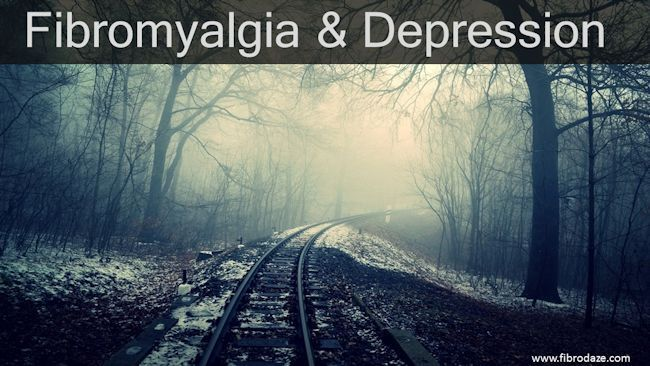 Depression is common in chronic pain conditions. People with fibromyalgia have an increased risk of developing major depressive disorder.