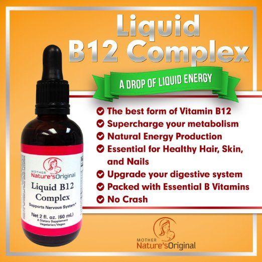 8 best Vitamin B12 Sublingual Liquid Complex images on Pinterest ...