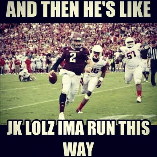 Johnny Football Memes