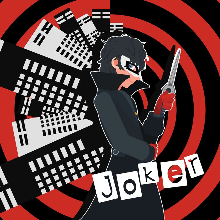 Joker - Persona 5   #persona #persona5 #joker #mask #knife #thief #phantom #heart #change #red #black #outline #mysterious #vector #vectorart #vectorartist #illustrator #illustration #adobe #art #artist #artwork #artoninstagram #artistsoninstagram #art🎨