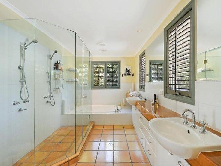 beach style   medium secluded beach style, country style bathroom incorporating ...