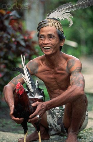 Iban Warrior #borneo #tattoos