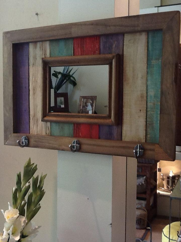 M s de 25 ideas incre bles sobre madera envejecida en for Espejo madera envejecida