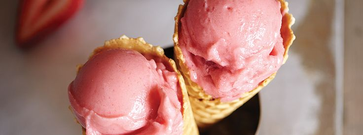 Cool off this summer with a homemade frozen treat made in your Vitamix blender.