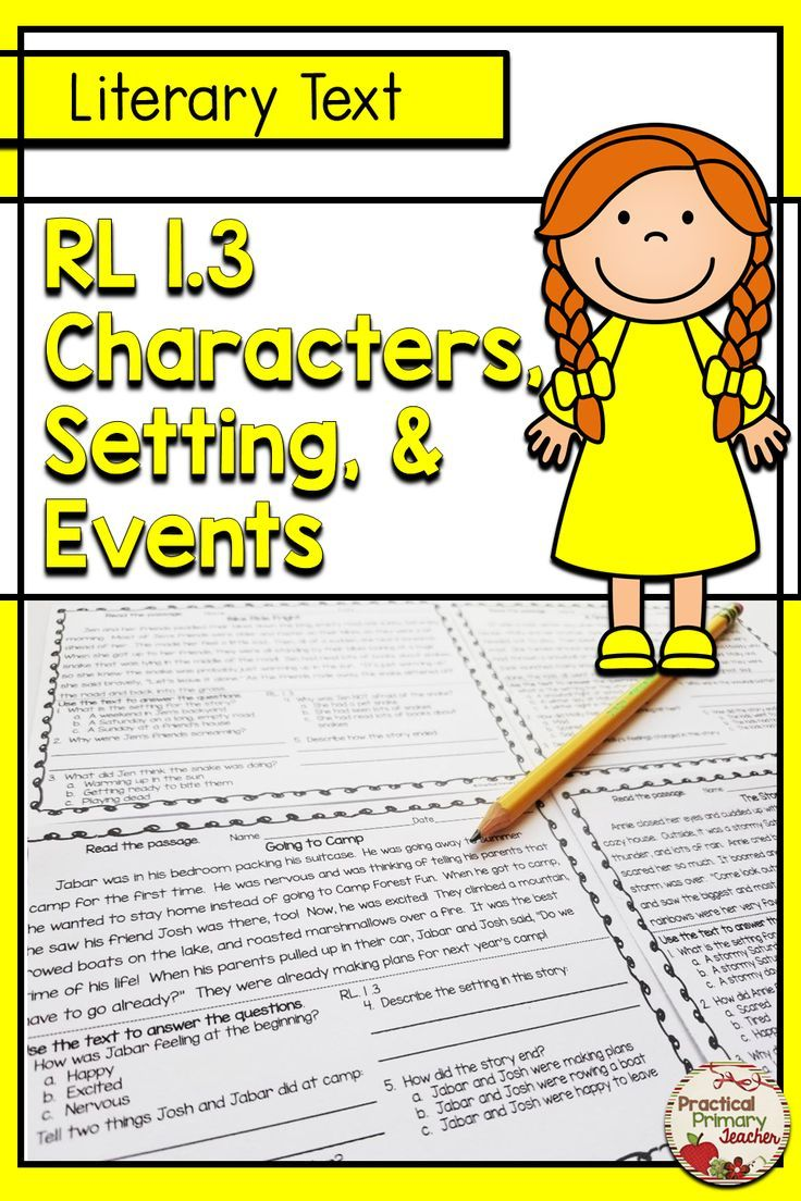 Rl 1 3 Activities Reading Passages With Comprehension Activities For Story Elements Characters Reading Passages Education Quotes For Teachers Story Elements [ 1104 x 736 Pixel ]