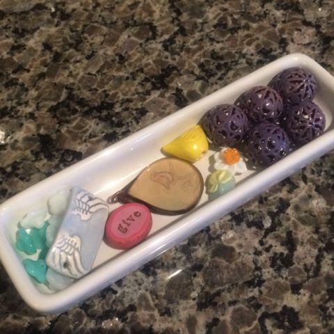 Beads received from Johana Nunez sent to Karin King (Maverick Beads)
