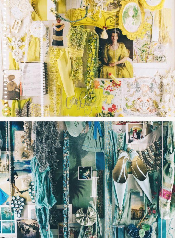 Collette Dinnigan//Collage
