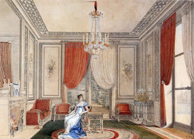 Regency Interior Design Painting Entrancing 310 Best 19Th Century Interior Painting Images On Pinterest . Design Decoration