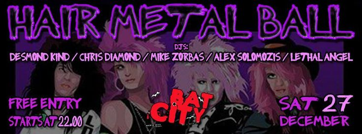 AOR UNITED presents: HAIR METAL BALL | You are the star!