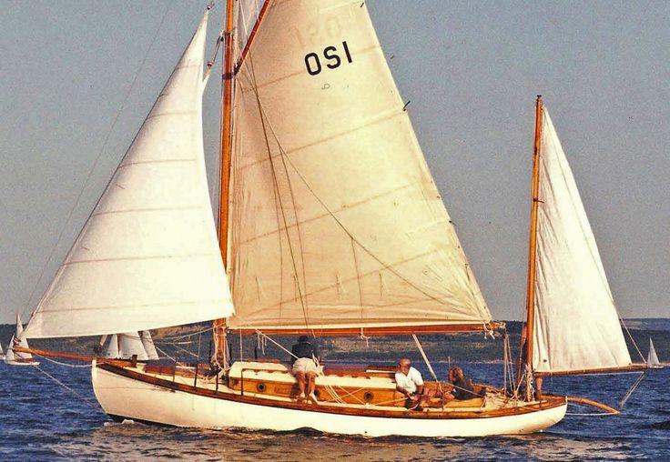 56 best william garden canoe yawl eel images on pinterest for 68 garden design gaff rigged schooner