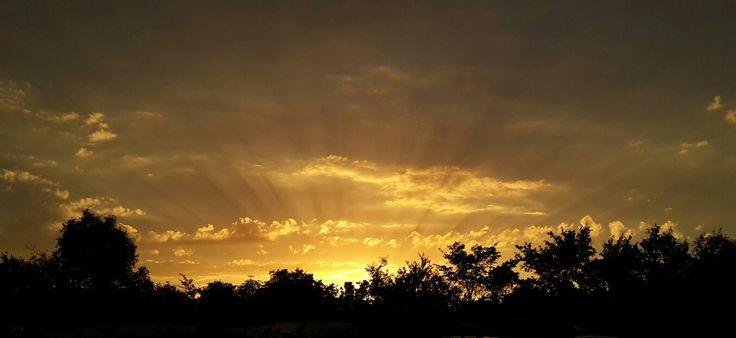 Sunset in Domburg, Zeeland