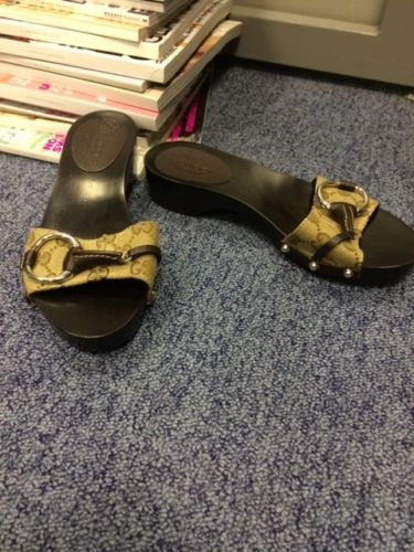 BNWOB Gucci clogs / slides / mules size UK 2   eBay
