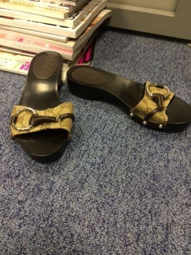 BNWOB Gucci clogs / slides / mules size UK 2 | eBay