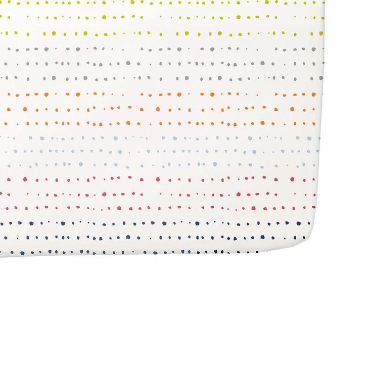Petit Pehr Painted Dots Crib Sheet