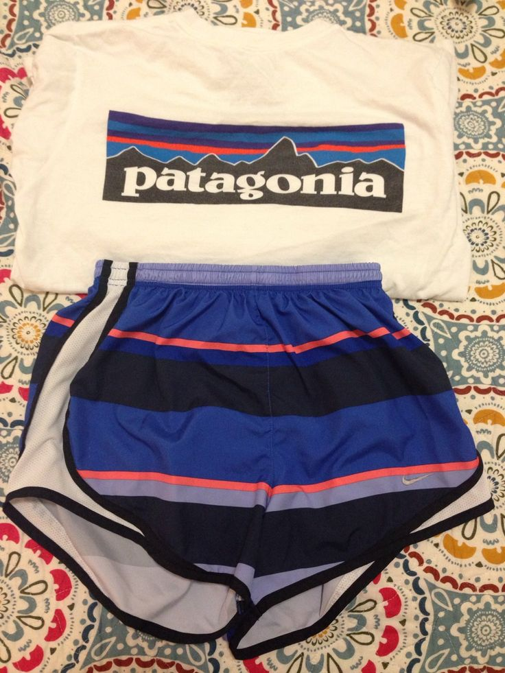 OUR OUTFITS Shirt - $35 https://www.patagonia.com/us/product/mens-p-6-logo-t-shirt?p=51865-0-725