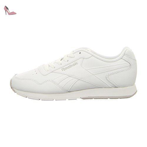 newest 0538f 3487f ... Reebok Glide, Chaussures de Sport Femme, Blanc Cassé-Blanco (White    Steel ...
