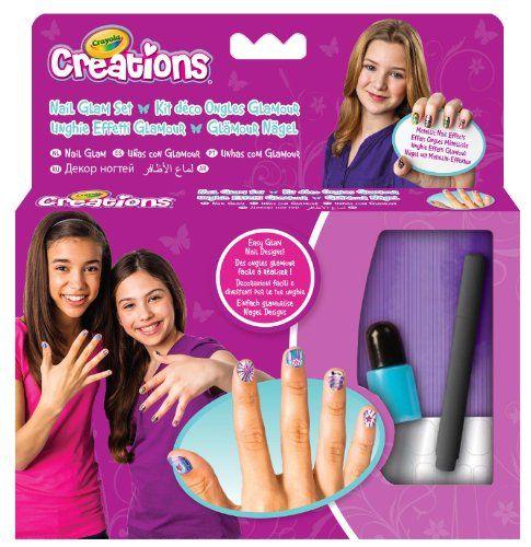Crayola Créations – 04-7012-e-000 – Kit De Loisirs Créatifs – Déco Ongles Métalliques   Your #1 Source for Toys and Games
