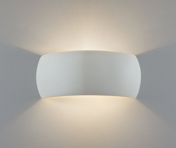Astro Lighting 7073 Milo 1 Light Ceramic Wall Light uplighter / Downlighter Lighting: Amazon.co.uk: Lighting