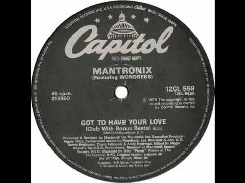 ▶ Mantronix - Got To Have Your Love - YouTube