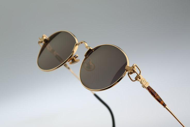 Alain Delon Mod 3573 / Vintage sunglasses / NOS 90's rare designer eyewear by CarettaVintage on Etsy
