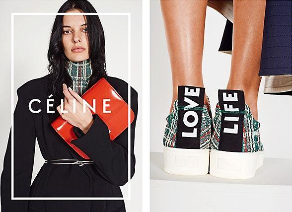 Céline Spring 2014 Ad Campaign