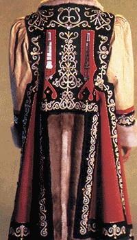 Russian northern folks costume