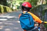 Equipment checks and safety steps for parents to take when their kids are riding a bike to school.
