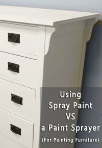 spray paint vs a paint sprayer sprays paint and. Black Bedroom Furniture Sets. Home Design Ideas