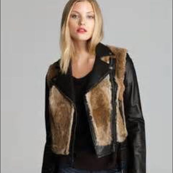 Mackage leather size medium Mackage leather ! Paid $1000 plus tax ... New without tags .... Worn 1x Mackage Jackets & Coats